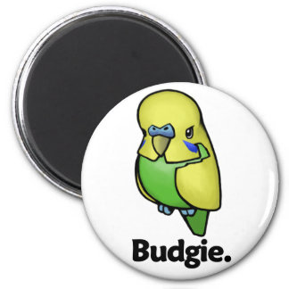 Budgie Budgie. Magnet