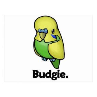 Budgie Budgie. Postal