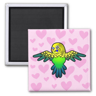 Budgie Love Magnet