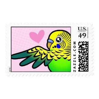 Budgie Love Postage