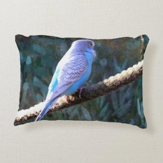 Budgie Accent Pillow