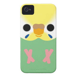 Budgie (Opaline Yellowface2 Greywing Skyblue F) iPhone 4 Cover