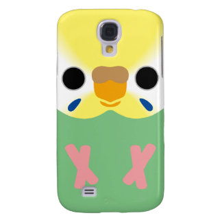 Budgie (Opaline Yellowface2 Greywing Skyblue F) Galaxy S4 Cover