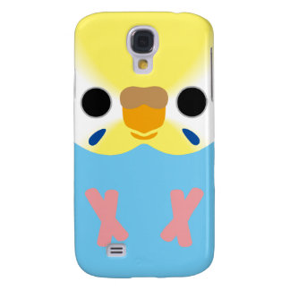 Budgie (OpalineYellowface1 Greywing Skyblue F) Samsung Galaxy S4 Cases