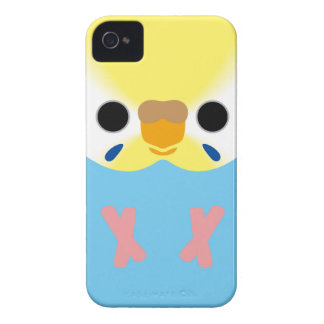 Budgie (OpalineYellowface1 Greywing Skyblue F) iPhone 4 Cover