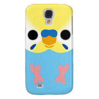 Budgie (OpalineYellowface1 Greywing Skyblue M) Galaxy S4 Cases