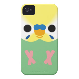 Budgie (OpalineYellowface2 Greywing Skyblue M) iPhone 4 Cases