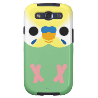 Budgie (OpalineYellowface2 Greywing Skyblue M) Samsung Galaxy S3 Cases