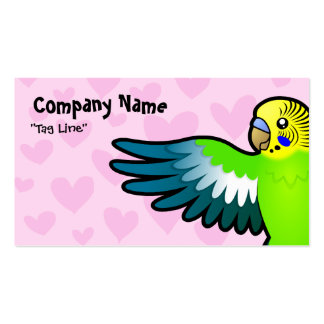 Budgie / Parakeet Love Business Card