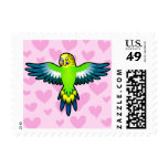 Budgie / Parakeet Love Postage