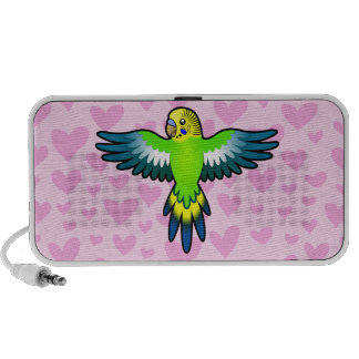 Budgie / Parakeet Love Mini Speaker
