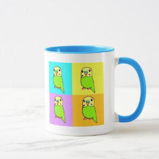 Budgie Pop Art Mug