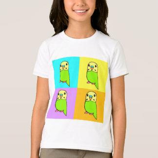 Budgie Pop Art T-Shirt