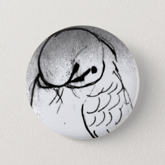 Budgie Portrait Button