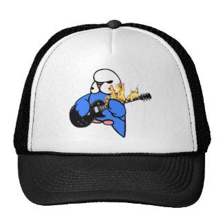 Budgie Rocks 3 Hats
