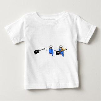 Budgie Rocks Math Baby T-Shirt