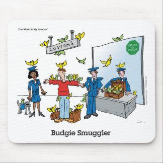 Budgie Smuggler Mouse Mat