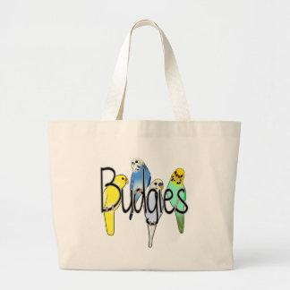 Budgies Canvas Bag