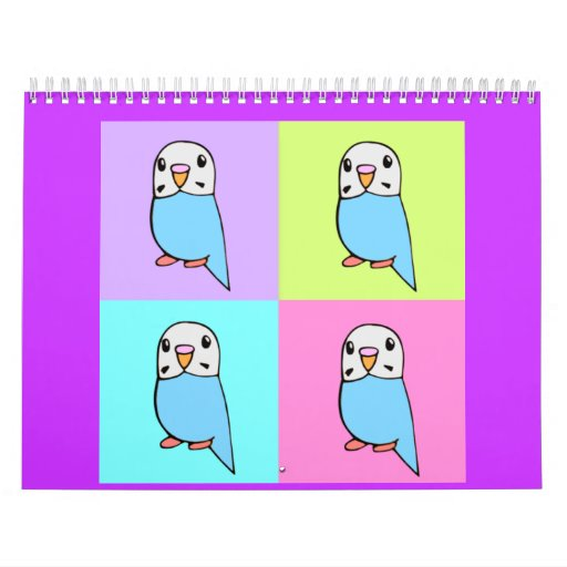 Budgies Calendar