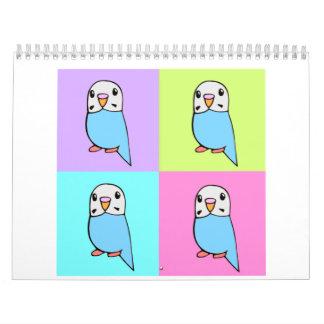 Budgies Calendars