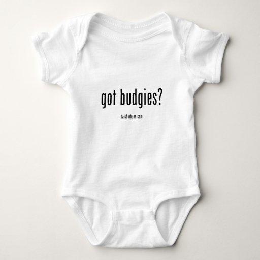 ¿Budgies conseguido? Body Para Bebé