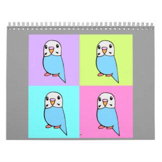 Budgies/Parakeets Calendars