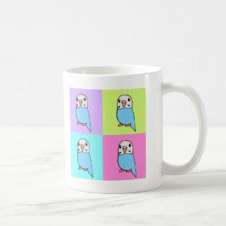 Budgies Pop Art Coffee Mug