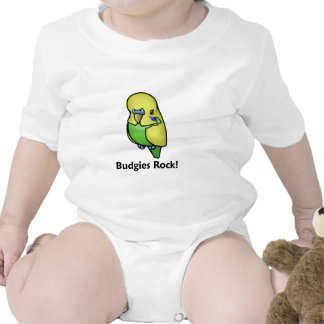 Budgies Rock! Bodysuits