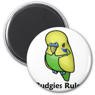 Budgies Rule! Magnet