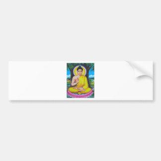 Budha Bumper Sticker