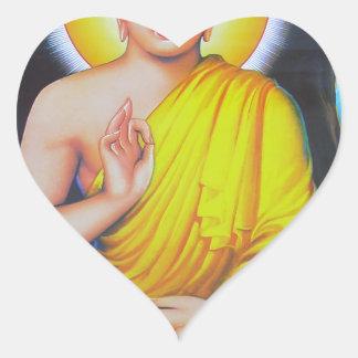 Budha Heart Sticker