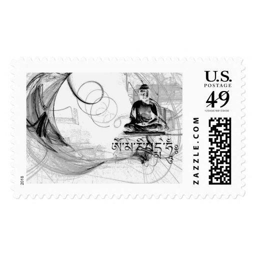 Budha Nature Stamp