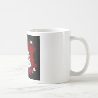 BUDHA RED BACKGROUND PRODUCTS COFFEE MUG