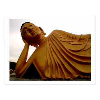 Budista de descanso del ~ de Buda Tarjetas Postales