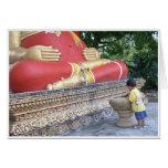 Budista de menor importancia tarjeta