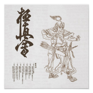 budo warrior poster