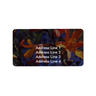 Buds And Blooms Custom Address Labels