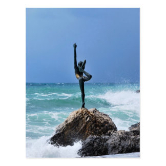 Budva ballerina Postcard
