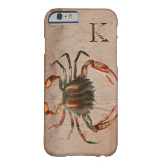 Bue Crab Shabby Design Barely There iPhone 6 Case