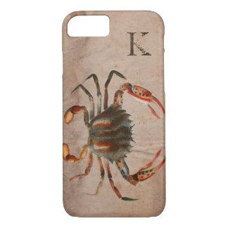 Bue Crab Shabby Design iPhone 8/7 Case