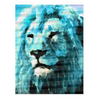 Bue Lion Postcard
