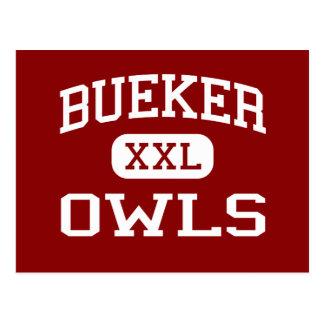 Bueker - Owls - Middle School - Marshall Missouri Postcard