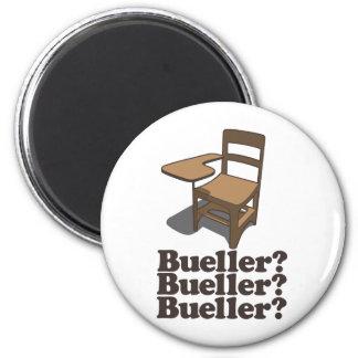 ¿Bueller? ¿Bueller? ¿Bueller? Imán Redondo 5 Cm