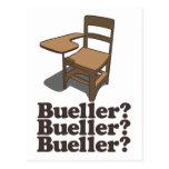 Bueller? Bueller? Bueller? Postcard