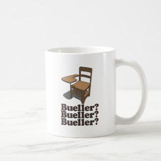 ¿Bueller? ¿Bueller? ¿Bueller? Tazas