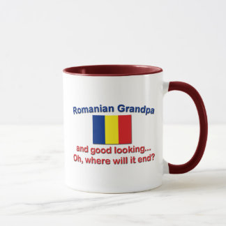 Buen abuelo del rumano de Lkg Taza
