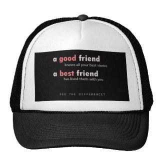 Buen amigo, mejor amigo gorra
