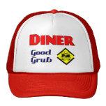 Buen arte del restaurante de la hamburguesa de la  gorras de camionero