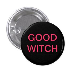 Buen botón de la bruja pins