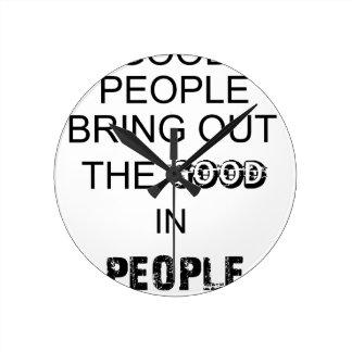 buen bringout de la gente el bueno en gente reloj redondo mediano